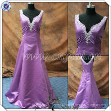 PP2574 Elegant Custom Made Purple Mother of the Bride Dresses