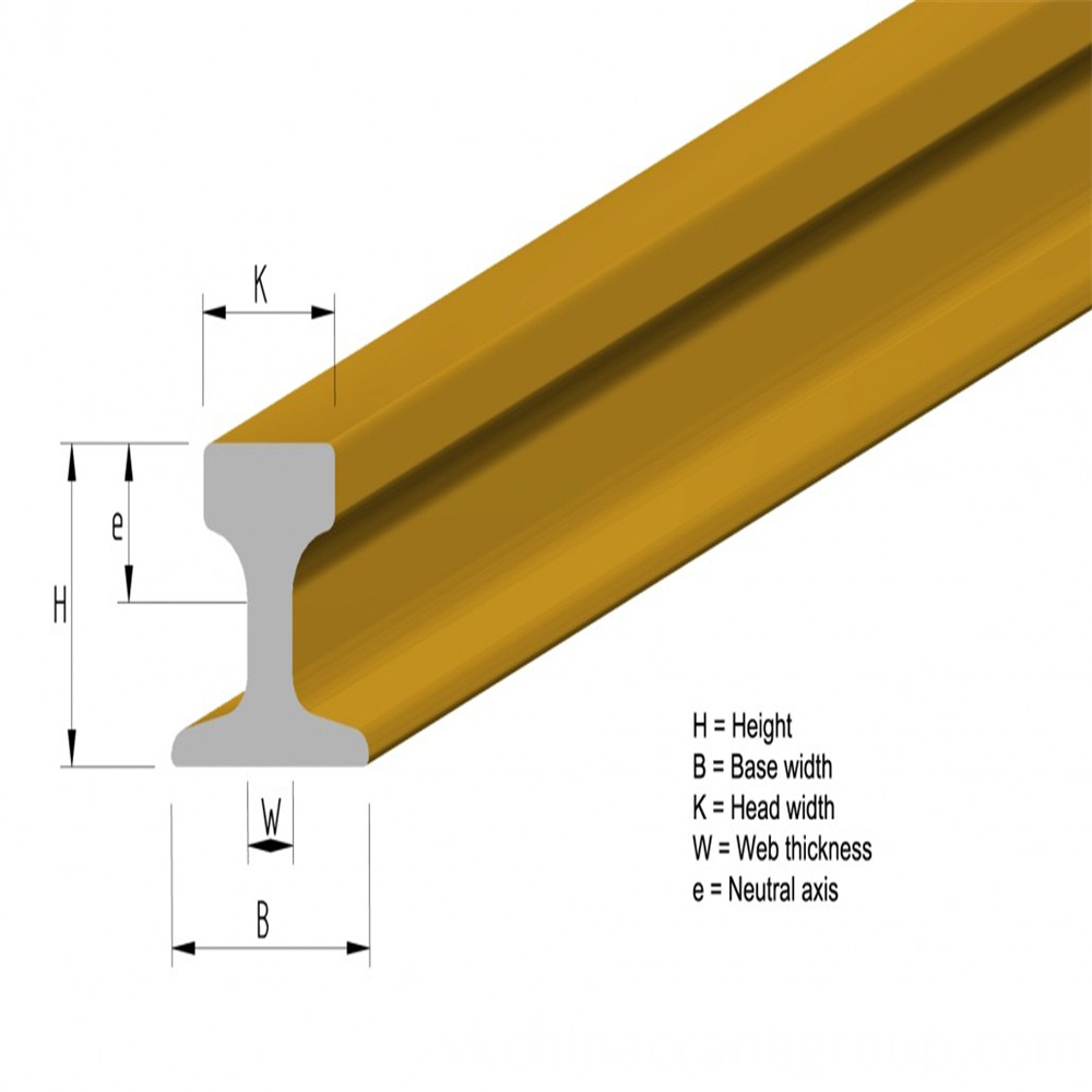 High web crane rail-LT