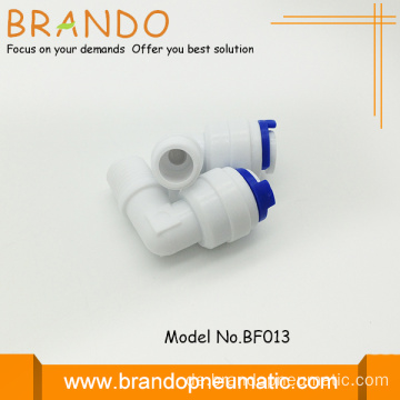 PP L Male Elbow Adapter schnell Fitting Connector