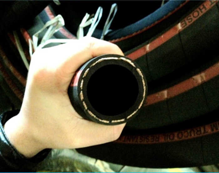 hydraulic oil return hose