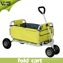 Al aire libre Los mejores carros plegables plegables plegables resistentes con las ruedas