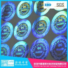 Label Hologram Keamanan Waterproof 3D