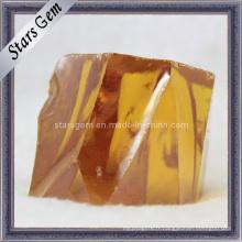 Haute qualité Gold CZ Rough / Raw Material, Zircon Cubic Rough