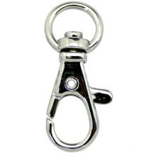 Classic Zinc Alloy Key Holder Metal Keychain Snap Hook