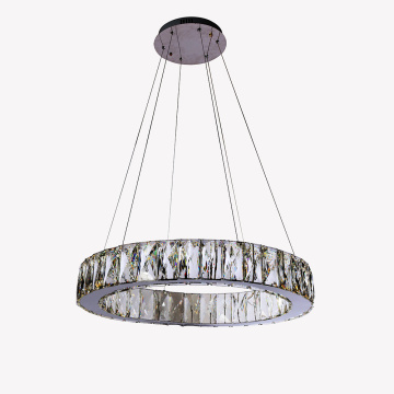 chrome chandeliers modern lamps home decor pendant light