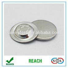 aimant rond de métal pour étiquette électronique