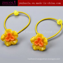 Women Colorful Hair Ornaments with Elastic Bands