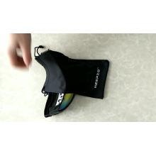 Saco de empacotamento portátil macio do microfiber dos óculos de proteção do esqui