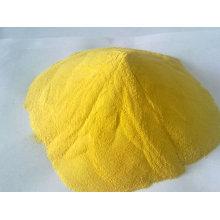 Cloruro de polialuminio PAC con 28% de polvo amarillo