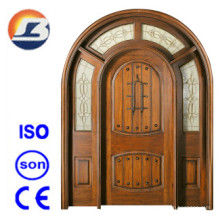 High Quality Exterior Meranti Solid Wooden Door