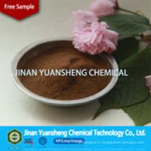 Poudre de lignosulfonate de sodium à haute pureté en bois avec fiche signalétique