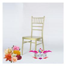 Hochzeit Möbel billig Metall Aluminium Stuhl