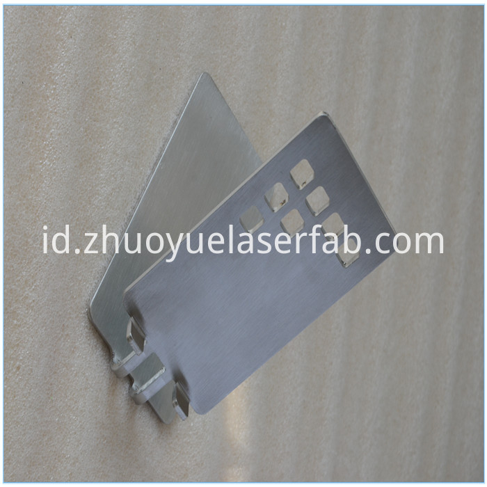 stainless steel laser cutting bracket