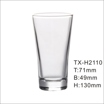 Wide Mouth Popular Use Machine Pressing Drink Glass Tumbler (GB01027007H)