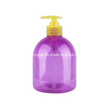 Botella de bomba de loción a presión para lavarse las manos de plástico para mascotas fabricada en China