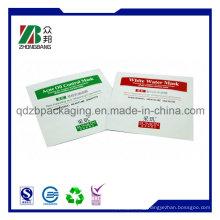 Three Side Seal Mask Packaging Bags