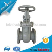 GOST valve de vanne de levage de soupape de vanne en acier moulé fabricant dn40-600