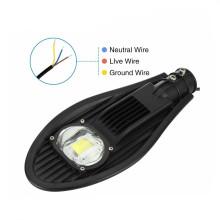 Luz de rua do diodo emissor de luz da ESPIGA dos EUA 50w