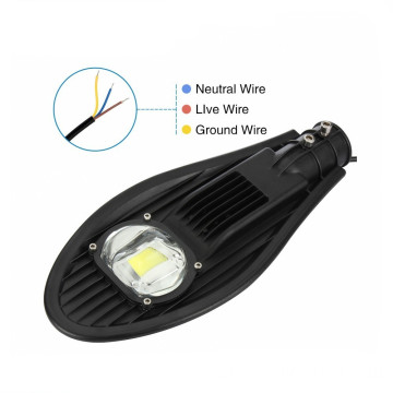 USA 50w COB LED Street Light