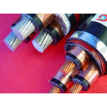 Three Cores Copper Conductor 300mm2 XLPE Cable