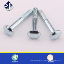 Carriage Bolt in ASME/ANSI B 18.5 Bolt with Nuts