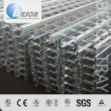 Escalera de cable galvanizada fábrica del metal del OEM con calidad superior