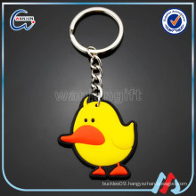 best minions eco-friendly 10cm rubber keychain