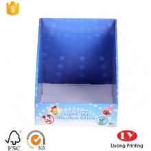 Caixa de exibição dobrável de presente de papelão ondulado