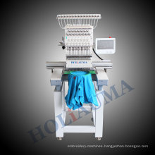 High Speed 1 Head 1200 Rpm Computer Embroidery Machine