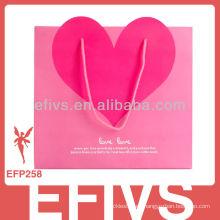 2015 Forme a moda la caja de joyería decorativa del corazón que empaqueta la fabricación de nanjing