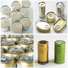 Emballage de qualité alimentaire Bobine en aluminium pour boisson Couvercle de couvercle de boîte