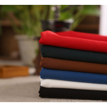 Großhandelsebene gefärbt Polyester Spandex Stretchgewebe