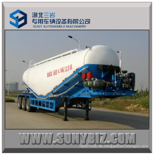 40cbm 50cbm 60cbm 3 Achsen Bulk Zement Tanker Anhänger