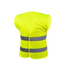 High Visibility Orange Reflective Safety Vest