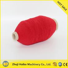 mezcla de seda y cachemir lana inteligente del solo hilado cubierto hilado