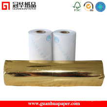 Rolos de papel térmico revestidos ISO