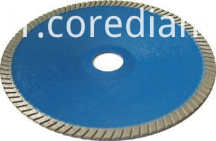 Sinter Hot-pressed Continuous Turbo Concave blade
