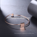 China Wholesale Fashion platinum Bracelet , High Quality Women alloy Bracelet For Mother's Day