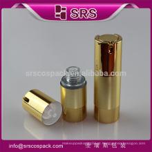 China airless garrafa com bomba de pulverizador bomba embalagem, airless spray pintura pumpfor pele cuidados