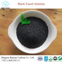prix concurrentiel de corindon naturel pour rectifier et polir l'alumine fusionnée noire / corindon