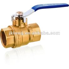 J2037 Full bore Brass Ball valve PN25