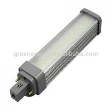 750-850lm venta caliente de la luz led G24 llevó el bulbo e27 PLC Lámpara CE aprobó 10w llevó el proyector 100-240V 120 grados