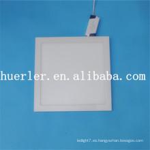 2014 nuevo cuadrado / redondo Aluminio y plástico 4w / 6w / 9w / 12w / 15w / 18w 100-240v 18w llevaron la luz superficial del panel