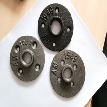 Black floor Flange malleable iron material class