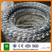 [10 years quality guarantee] Anping Factory razor wire, concertina razor wire cheap price