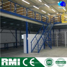 Construction Design Steel Structure Warehouse Storage Mezzanine