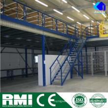 Armazém da construção de aço do projeto da construção, racking do armazenamento da automatização industrial Mezanine do armazenamento de Jracking