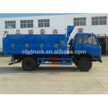 2015 Dongfeng camión de basura para la venta, 4x2 china nuevos camiones para la venta