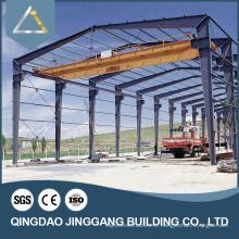 Structure en acier certifié CE pour bâtiment / atelier d'entrepôt