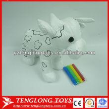 Vente chaude farcie Bébé jouet éducatif jouet de peinture bricolage